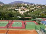 A short walk to Bel-Air Tennis Club. No membership required, everyone welcome