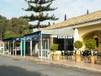 RACUETS BAR AND RESTAURANT WITH TENNIS COURT PLUS STEVES BAR 5- 7 MINS WALK FROM APARTMENT