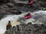 White Water Rafting Tummel