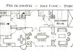 Blueprint of the main floor