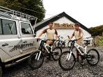 Bring your own bike or hire from our fleet at MudTrek Mountain Bike Breaks