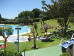 Fantastic green area around the pool