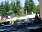Breakfast, lunch or dinner on the terrace
