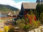The perfect location for our accommodation, overlooking Loch Tay!
