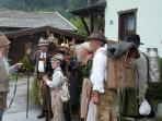 Enjoy Austrian traditions such as Bauernherbst when the cows are brought down the mountains
