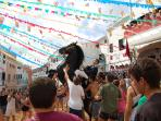 One of the many festivals held in Menorca throughout the year.