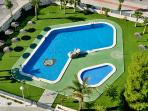 Swimming pool and children swimming pool