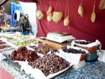 'Medieval Mrkt' every yr they come from all over Spain to bring us their marvelous homemade produce