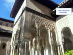 'The Alhambra Palaces' one of the worlds magnificently preserved Moorish Palaces