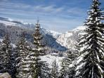 Winter wonderland and fantastic ski area of the Grand Massif