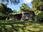 Red Dog Retreat - on 18 acres of ancient rain forest.