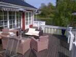 Sundeck with seaview