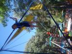 The beautiful park at Varna running parallel to the sea is great fun for the kids with the fun park