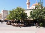 Cafe Market Square Kos Town