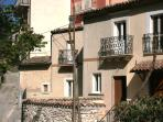 Restored in 2013, our cosy, charming house overlooking the beautiful town of Capestrano is a lovely