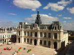 Main square Poitiers (just 60 minutes from La Rustlings)