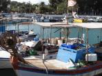 Fishing boats in Bogaz harbour