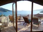 Sahane's superb private sea view roof terrace