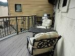 Lovely deck with gas grill