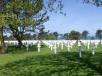 Omaha Beach : the cemetery