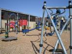 Childrens play area at Sandy Glade