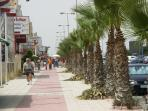'The Strip' at Cabo Roig - Bars & Restaurants - Just 20 mins walk from the house