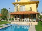 villa showing pool & children's pool