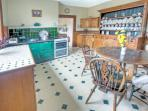 Kitchen/breakfast room with Aga & electric cooker