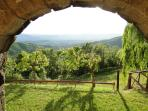 view from il portico