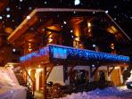 Luxury Chalet Annabelle early Winter snow