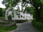 The George Inn, a short walk up Dubbs Lane to Hubberholme