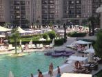 Poolside Area