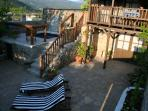 The Forge Terrace, Pool & Balcony