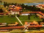 Foto aerea del borgo di Vettignè