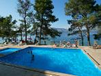 Swimming pool with a view