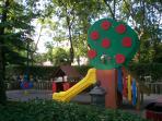 Children playground (2 minutes walk from the apartment)