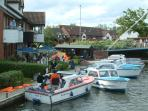 Wroxham Day Boats for Hire