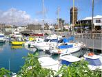 Caleta's beautiful marina