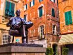 What would Lucca be without Puccini?Music lovers can enjoy the many concerts held in the city centre