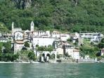 corenno plinio from the lake