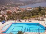 Uninterrupted panoramic view from the balcony