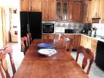 Large well equiped Kitchen for the finest Chefs