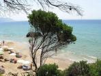 Myrtiotissa beach, near Riza