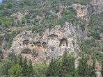 Ancient Lycian Rock Tombs