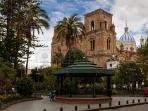 Parque Calderon/Cathedral/El Centro 7 minute walk