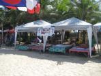 Massage tents