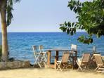 Taverna on the beach