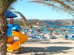 The beach at Javea is the just perfect for family holidays