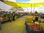 Colourful Calis market