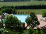 pool and garden portion  (2500qm)